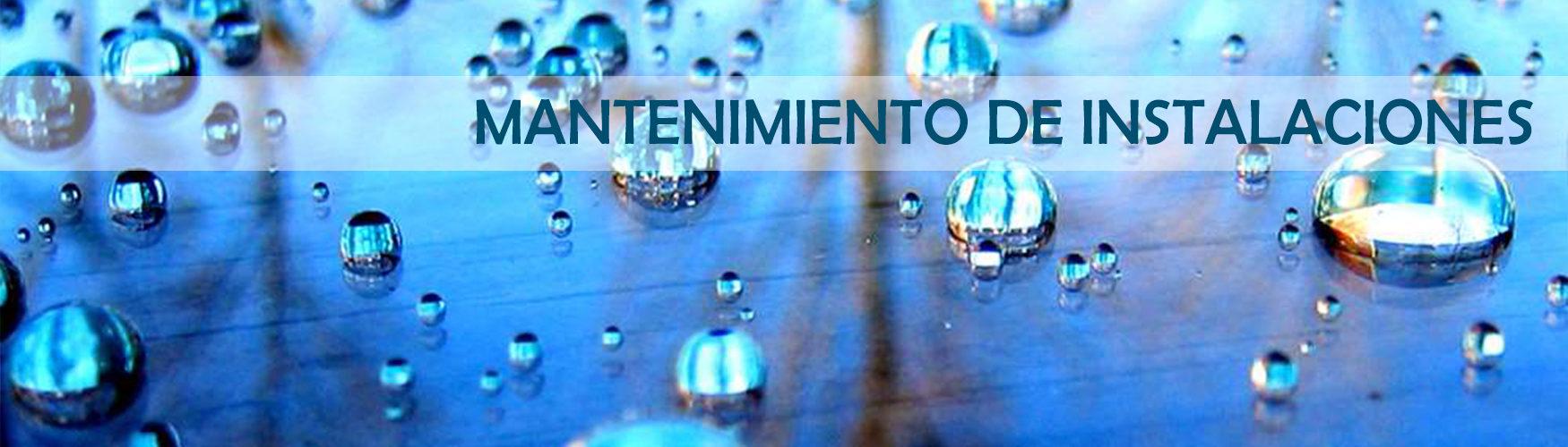 agua en una estancia de mantenimiento de instalaciones de depuración