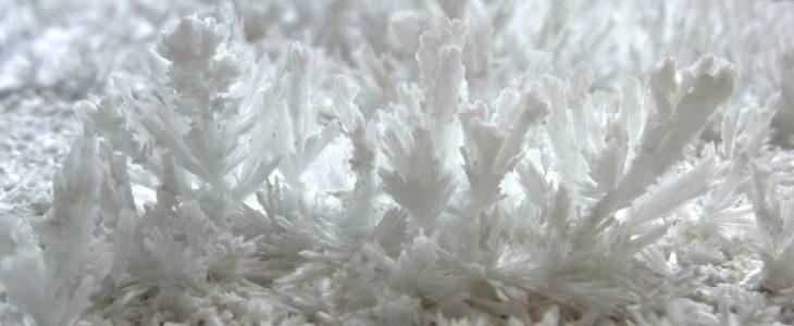 cristales de cal